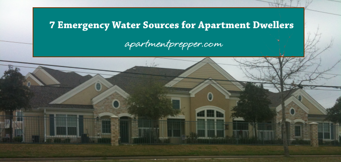 7 Emergency Water Sources for Apartment Dwellers