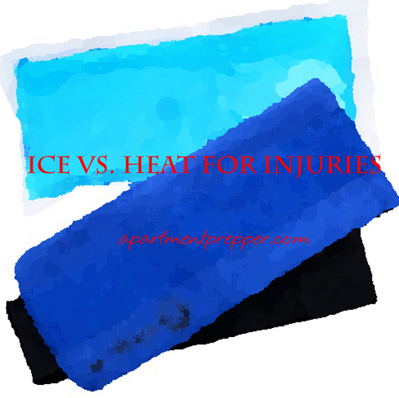 Ice vs Heat for Injuries