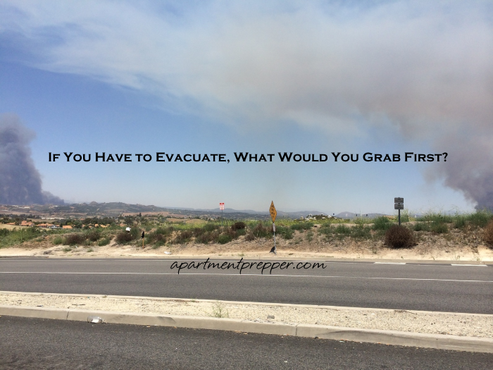 If You Have to Evacuate, What Would You Grab First