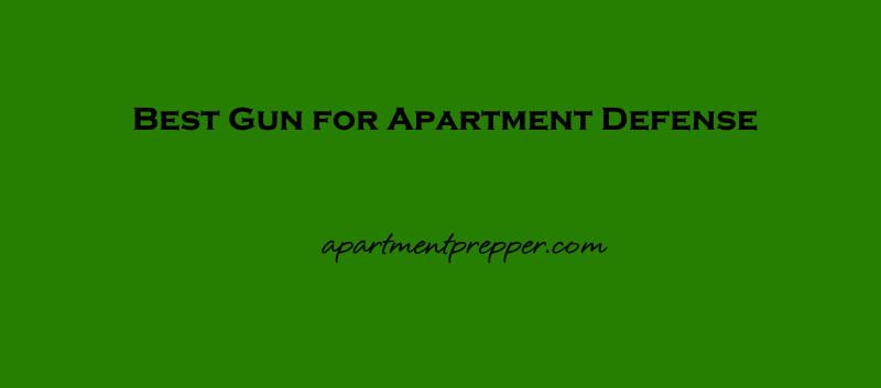 Best Gun for Apartment Defense