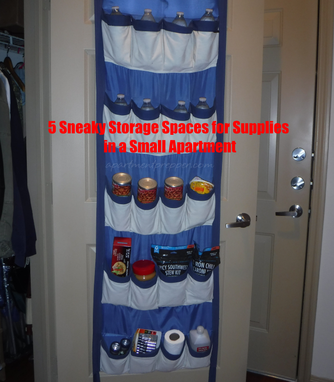 Apt Emergency Storage in Shoe Organizer – Copy