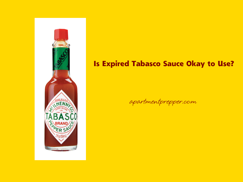 Is Expired Tabasco Sauce Okay to Use