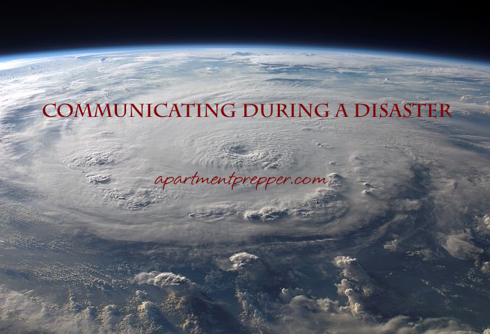 Communicating During a Disaster