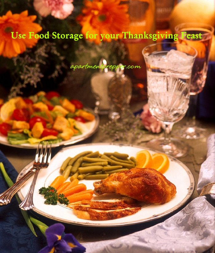 Use Food Storage for your Thanksgiving Feast