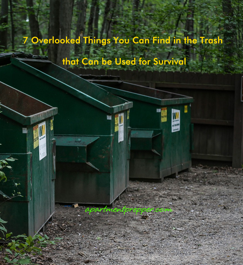 7 Overlooked Things You Can Find in the Trash that Can be Used for Survival