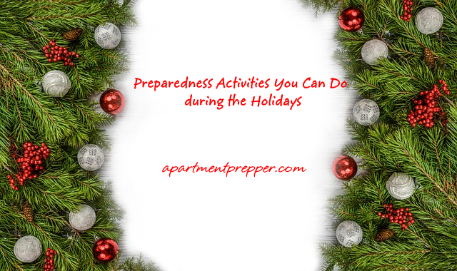 Preparedness Activities You Can Do during the Holidays