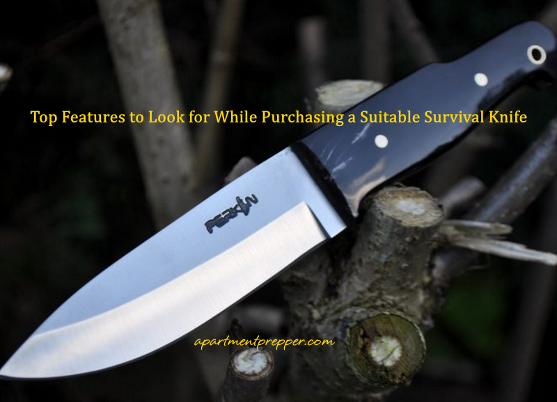 Top Features to Look for While Purchasing a Suitable Survival Knife