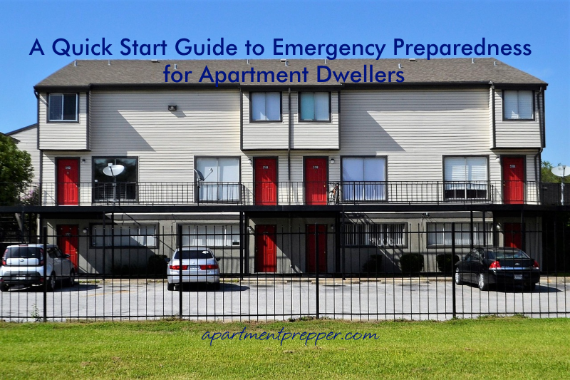 A Quick Start Guide to Emergency Preparedness for Apartment Dwellers