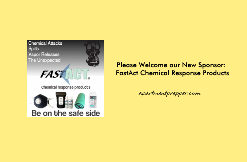 Please Welcome our New Sponsor FastAct Chemical Response Products