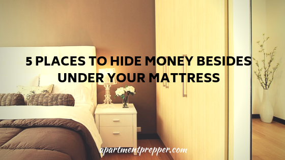 5 Places to Hide Money Besides Under Your Mattress
